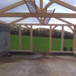Karate and Yoga timber framed outbuilding in Keston - Self build