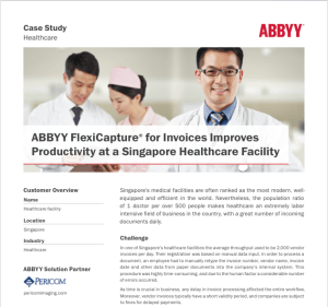 ABBYY, FlexiCapture, Singapore Healthcare