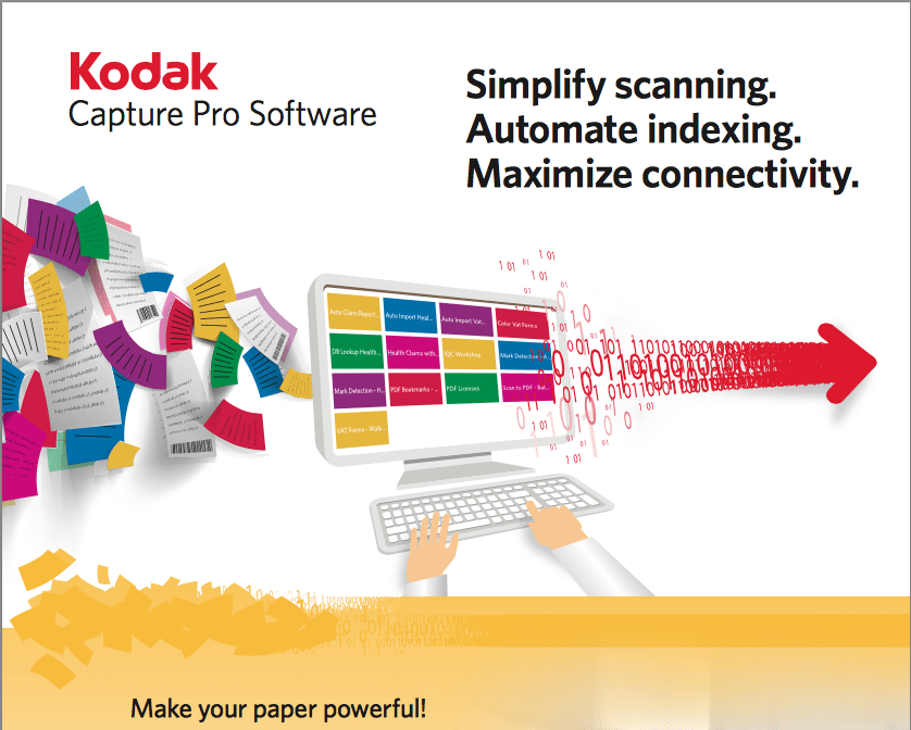 Kodak Capture Pro Software