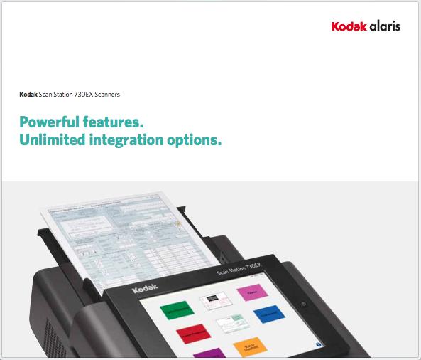 Kodak alaris Scan Station Data Sheet