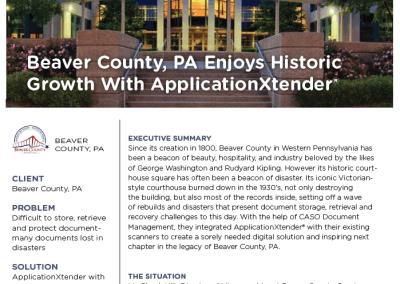 Beaver County, PA Case Study