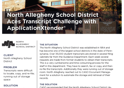 North Allegheny Case Study