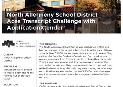 North Allegheny Case Study