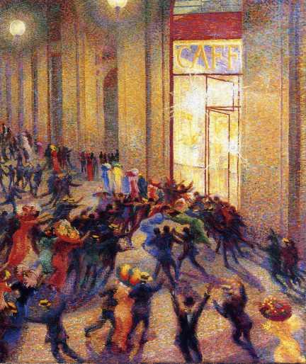 boccioni riot-in-the-galleria-1909