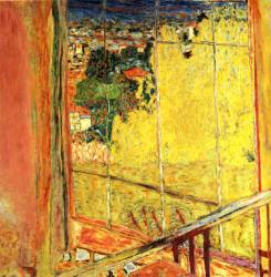 bonnard the-workshop-with-mimosa-1935