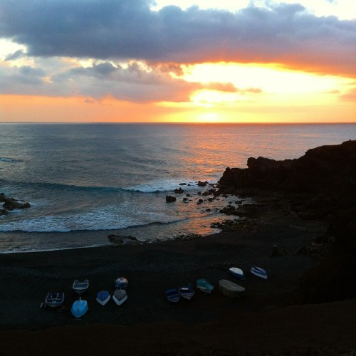 El Golfo Sunset