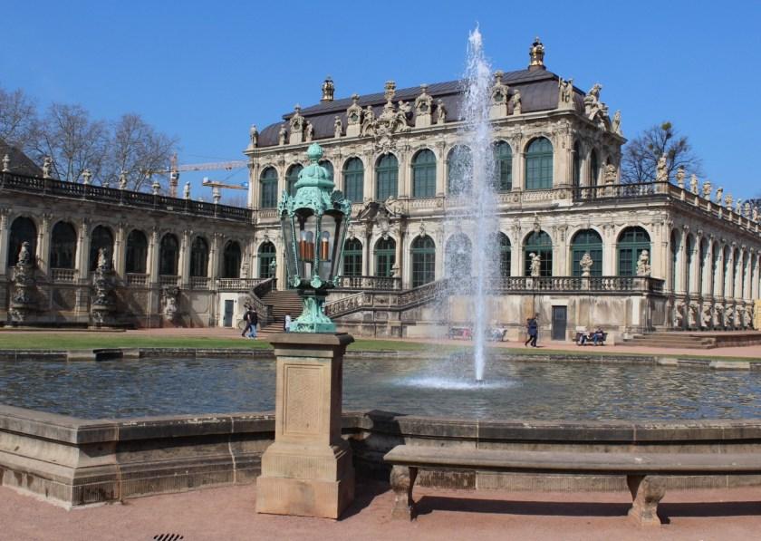 Dresden Zwinger Brunnen