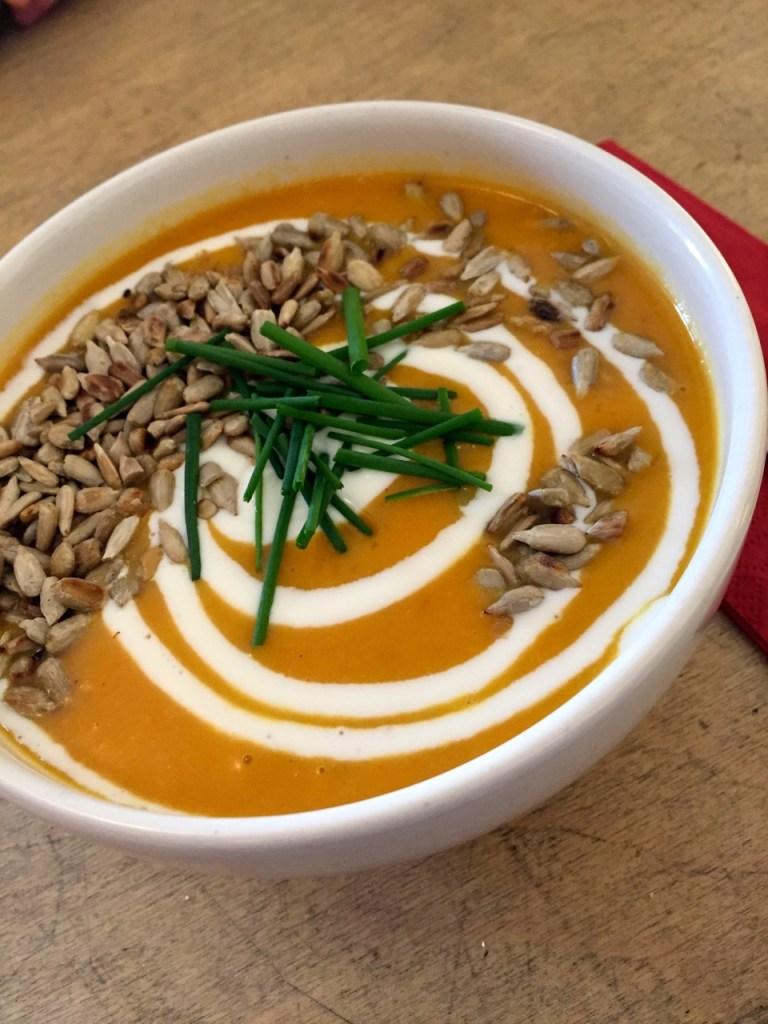 Suppenbar Kürbissuppe