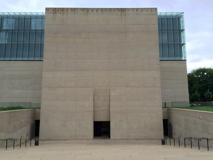 Eingang Ägyptisches Museum München