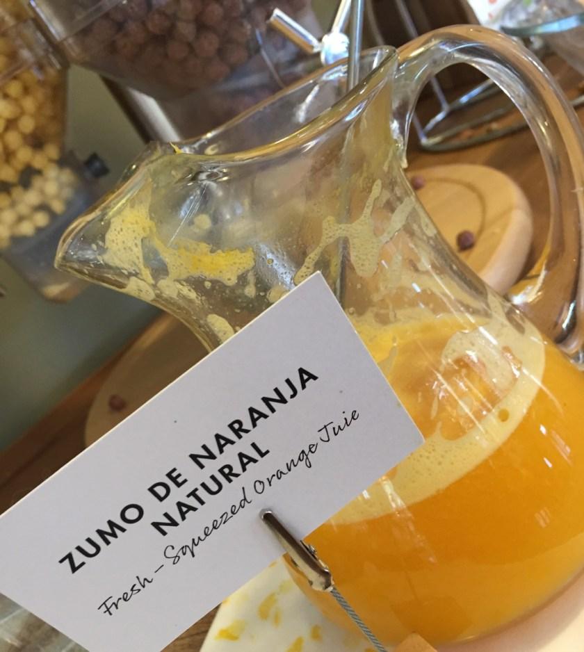 Orangensaft Mas Salagros
