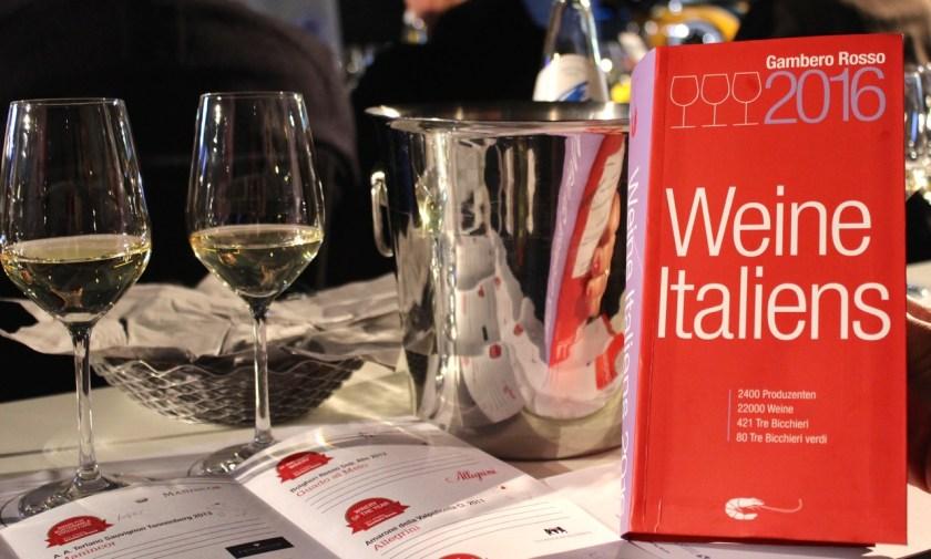 Gambero Rosso Vini d'Italia 2016