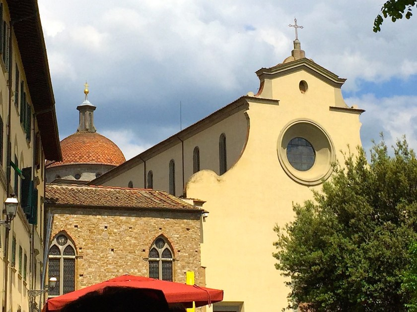 Blick auf Santo Spirito (© casowi)