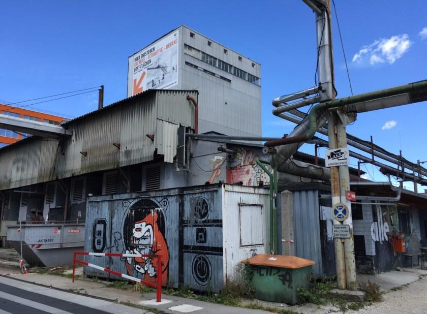 Die unbestechliche Schönheit der Industriearchitektur. ©casowi