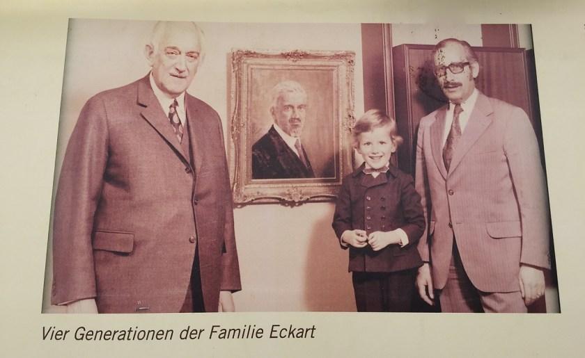 Vier Generationen der Familie Eckart. ©casowi