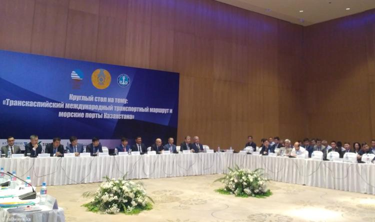 Транскаспийские пути транспортировки грузов обсудили в Ташкенте