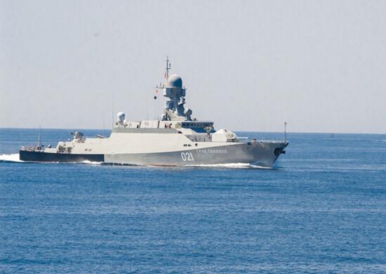 ТАСС о пусках крылатых ракет Калибр с акватории Каспия