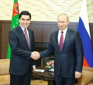 2 октября состоится визит Президента России в Туркмению