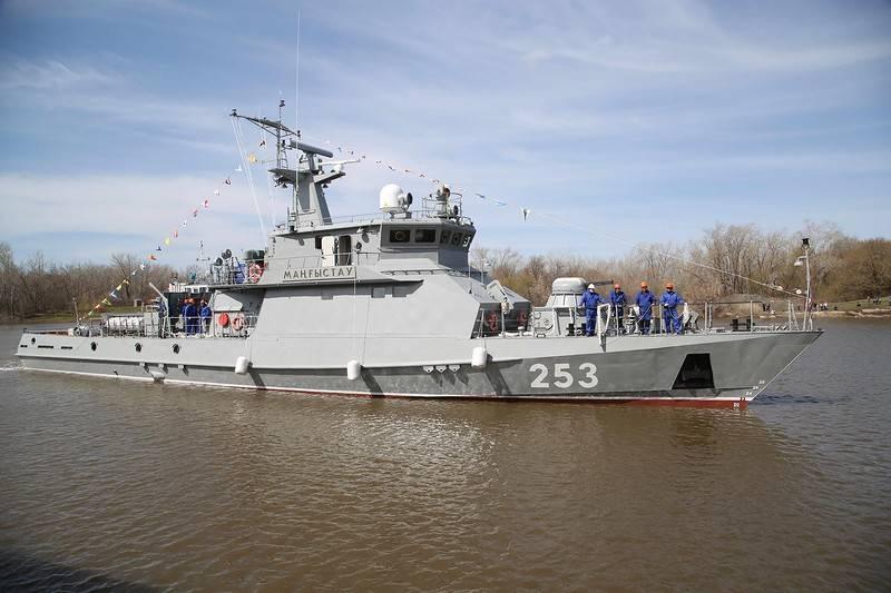 Пополнился состав ВМС Казахстана