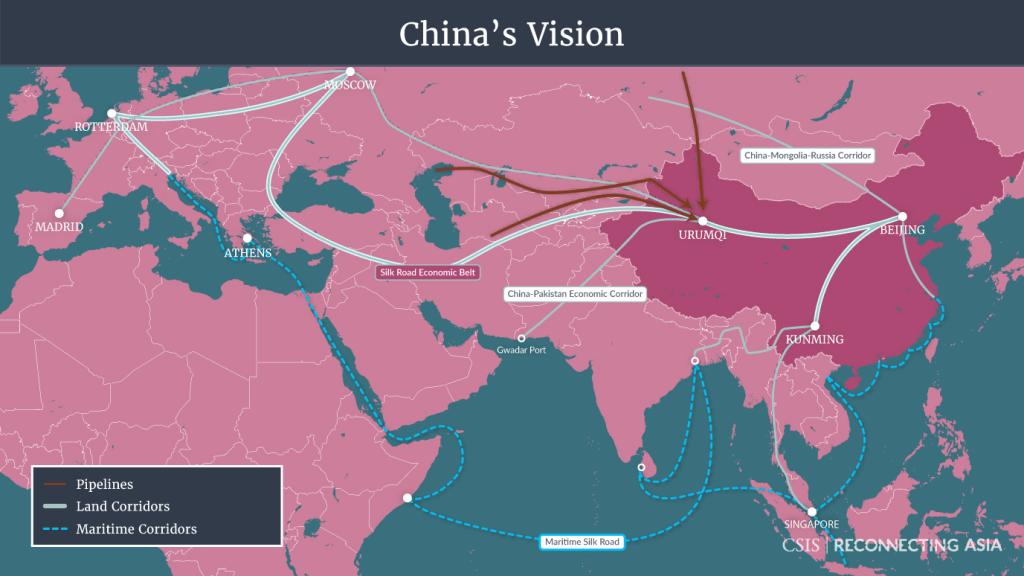 Насколько велик «Пояс и путь» Китая?