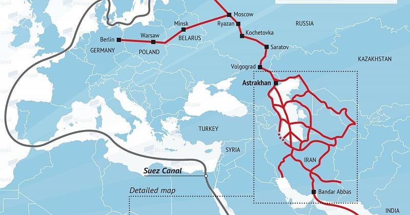 Транспортный коридор Север-Юг и его роль в развитии торгово-экономического сотрудничества России и Ирана