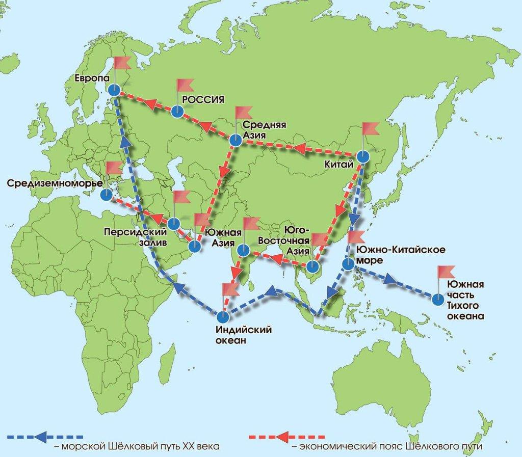 Китайская инициатива «Пояс и путь» — освобождение замкнутой Центральной Азии