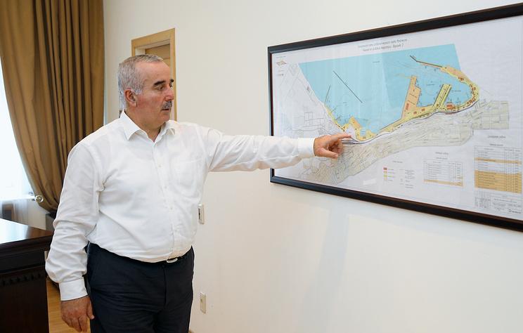 Интервью генерального директора Махачкалинского порта Мурада Хидирова