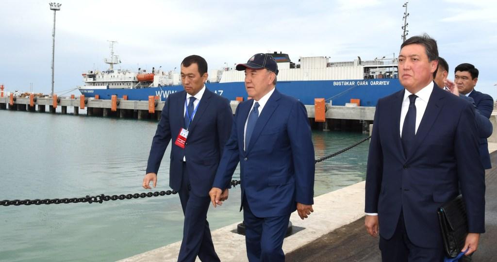 Чем занимались Назарбаев и Бердымухамедов в преддверии Пятого каспийского саммита
