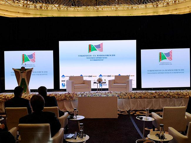 Туркменистан и США изучили новые перспективы делового партнёрства