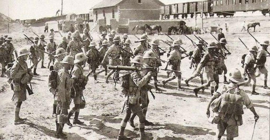 Гражданская война. Боевые действия на Каспии