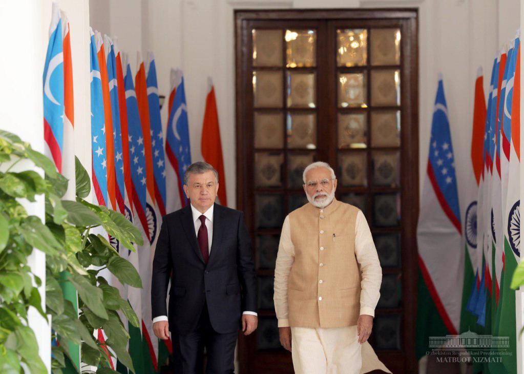 Узбекистан поможет Индии закрепиться в Центральной Азии