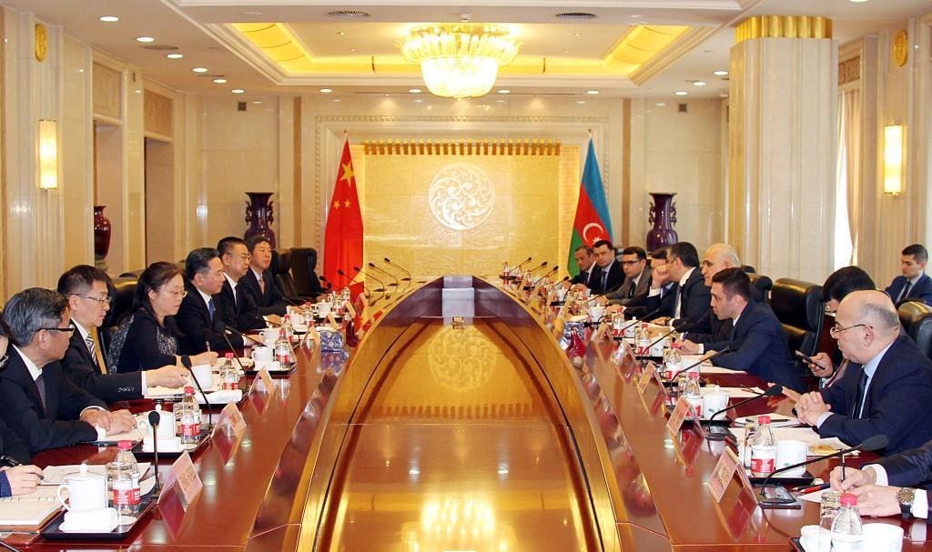 Азербайджанская экономическая делегация посетила Китай