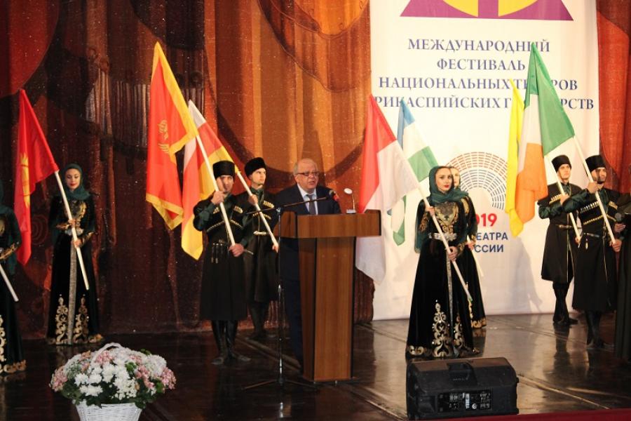 Фестиваль национальных театров прикаспийских государств стартовал Дагестане