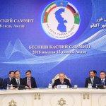 Роль Нурсултана Назарбаева в разрешении каспийского узла противоречий