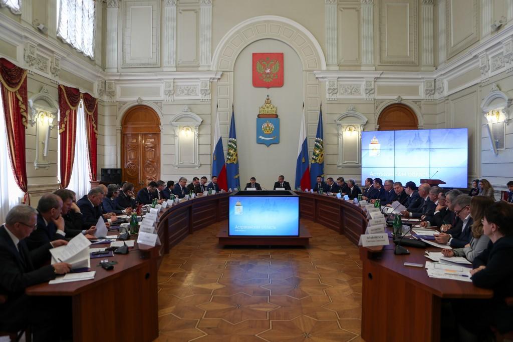 Состоялось совещание по подготовке президиума Госсовета РФ по развитию Прикаспия