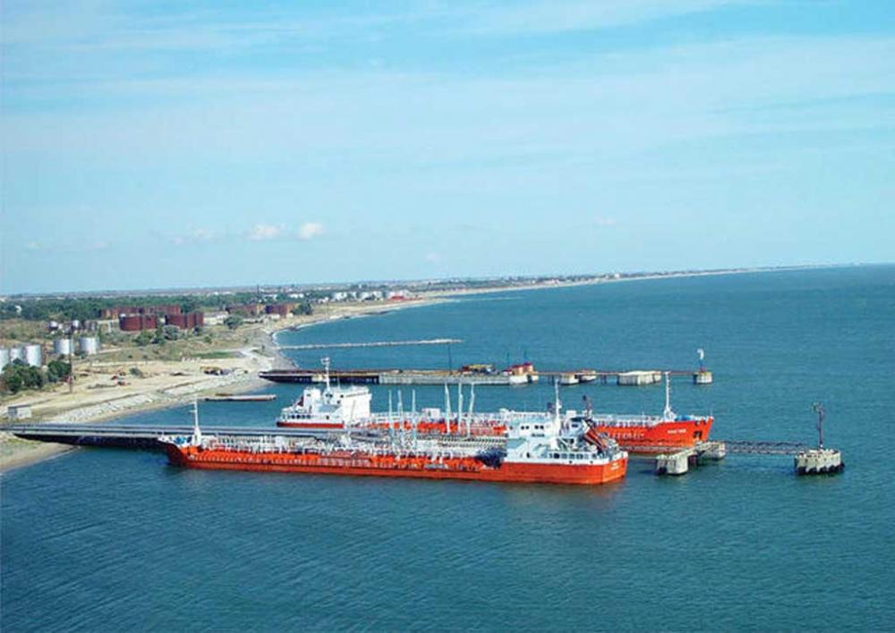 Объем перевалки грузов в порту Махачкалы продолжает показывать уверенный рост