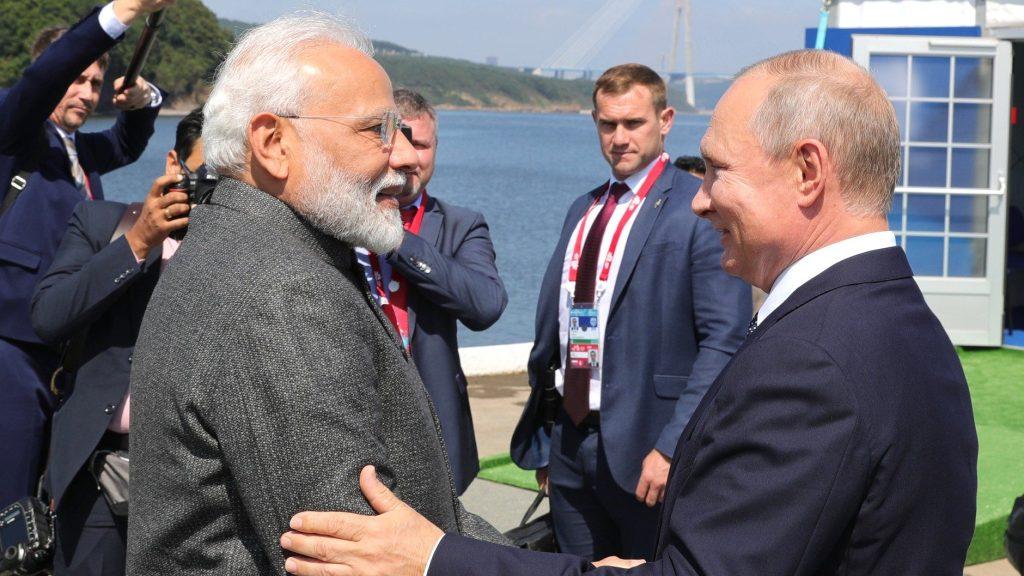 Россия и Индия на Восточном экономическом форуме
