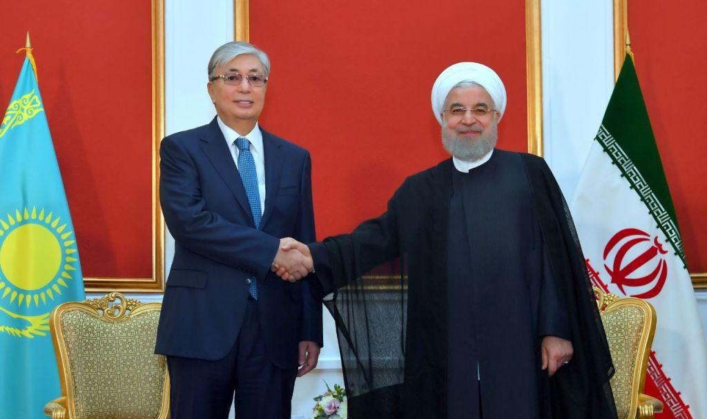 Главы Казахстана и Ирана обсудили двустороннее сотрудничество на Каспии