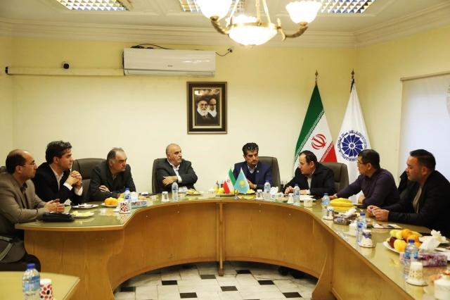 Представители СЭЗ «Морпорт Актау»  проявили интерес к иранским компаниям