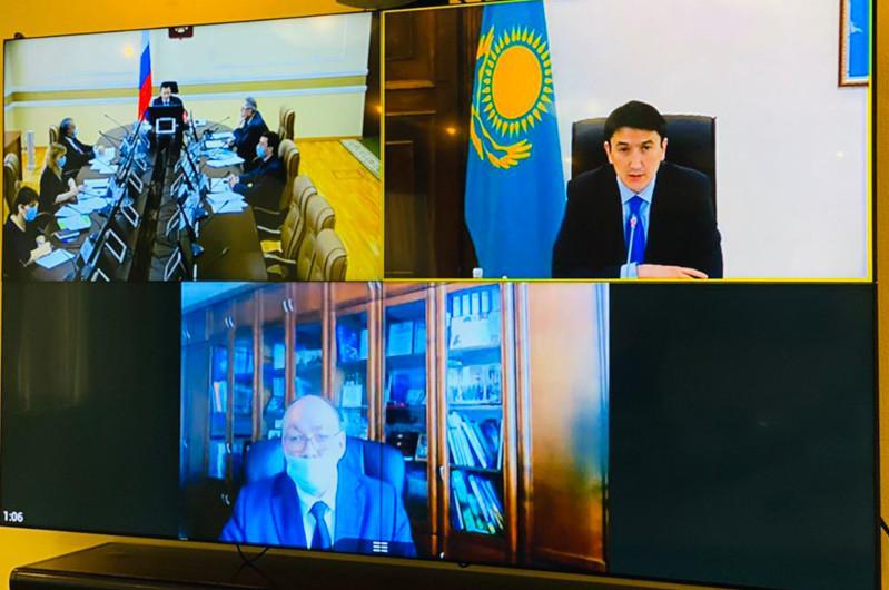 Казахстан и Россия создают экспертный совет по оздоровлению бассейна реки Урал