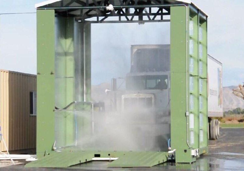 Дезинфекционные тоннели построят на границах Туркменистана и Ирана