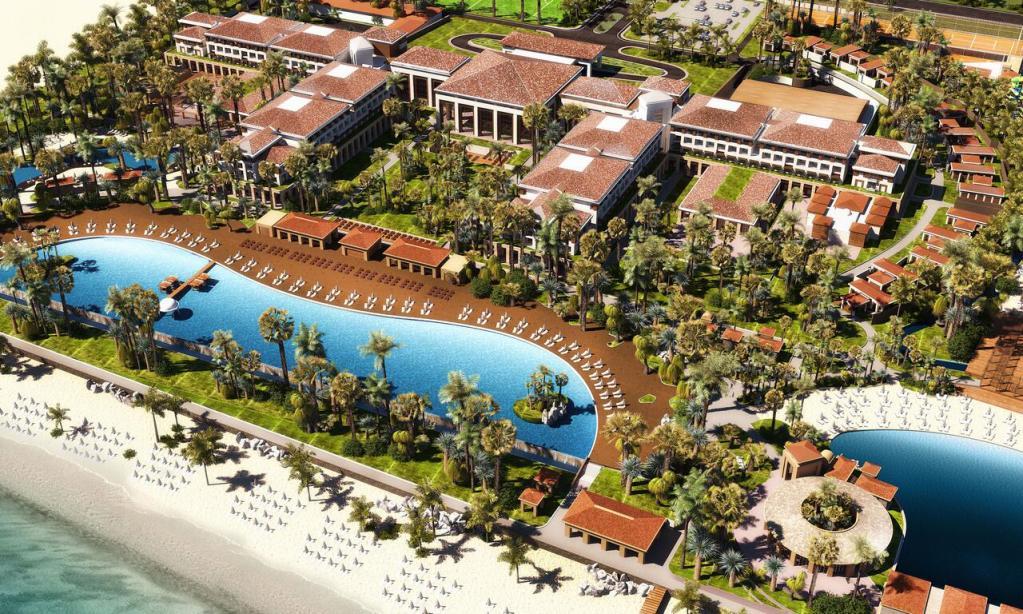 В Актау введена в эксплуатацию I очередь пятизвездочного отеля Rixos Water World Aktau