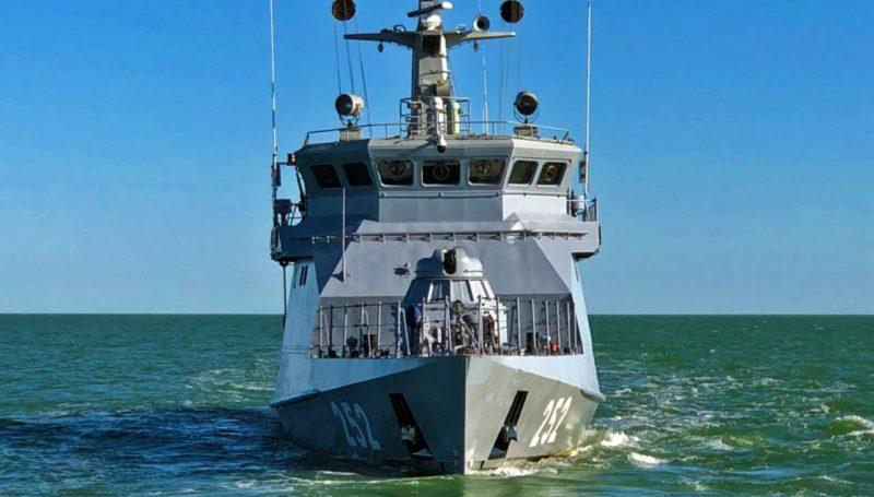 Группа военных кораблей ВМС Казахстана совершила в 2020 году 27 походов