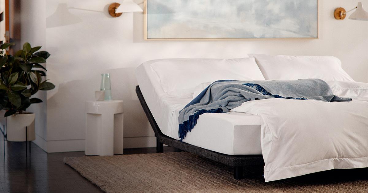 Adjustable Bed Frame Base Split King Queen Casper
