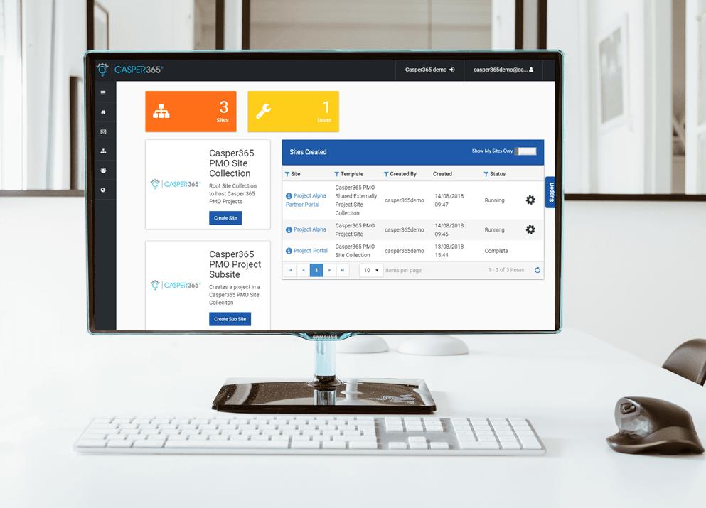 Casper365 - SharePoint Online sites