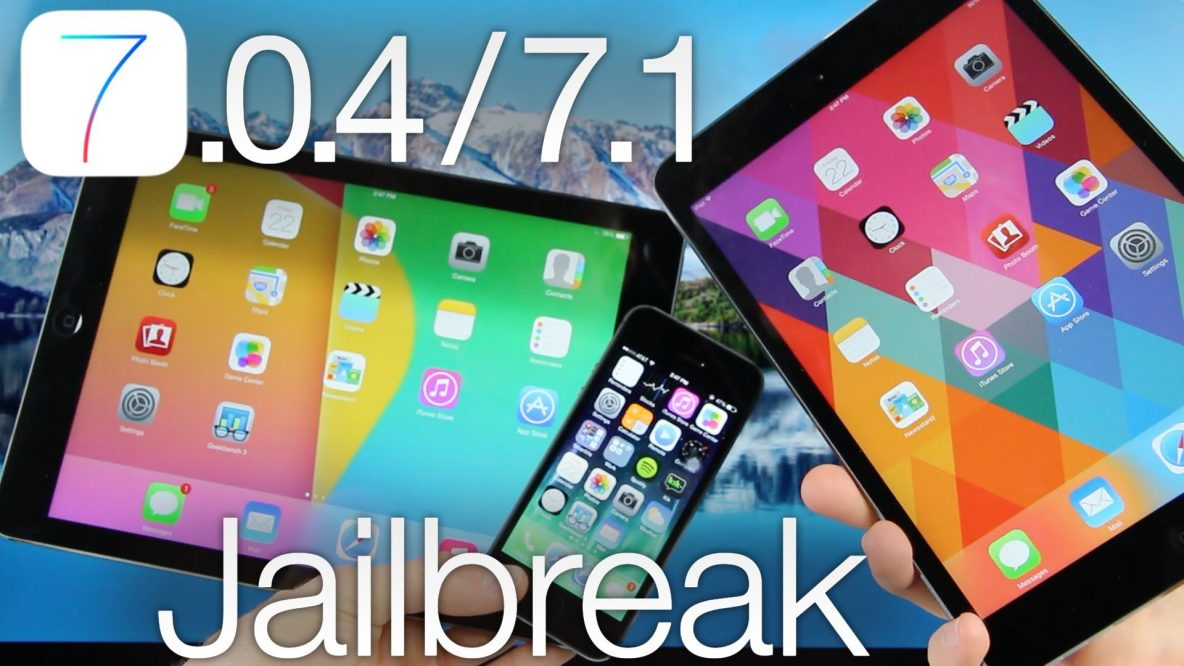 iOS 7.1 jailbroken but only on the iPhone 4
