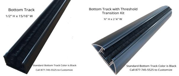 Casper Screens Bottom Track Options