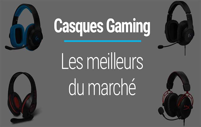 casques gamers