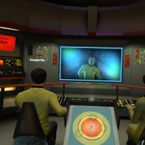 Sur le pont de l'USS Enterprise original