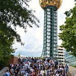 Lean Summer Participants at the Sunsphere