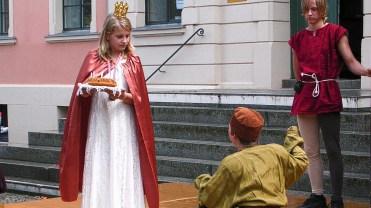 Die Prinzessin und der Page